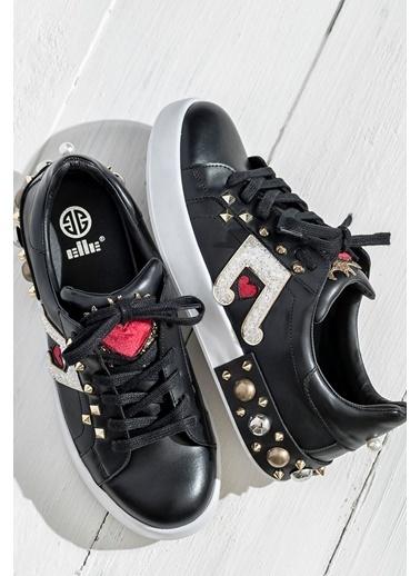 Elle Sneaker Ayakkabı Siyah
